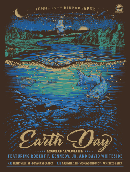Earth Day poster - Robert F. Kennedy Jr
