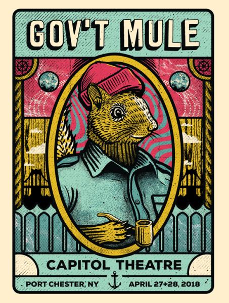 Gov't Mule - Capitol Theatre poster art