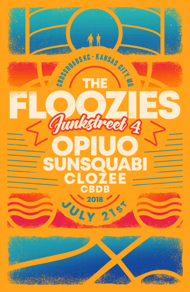 The Floozies Funkstreet poster
