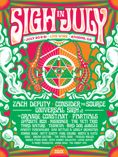 Sigh in July Poster