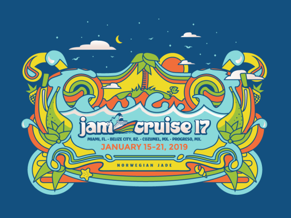 JamCruise 17 Art Design