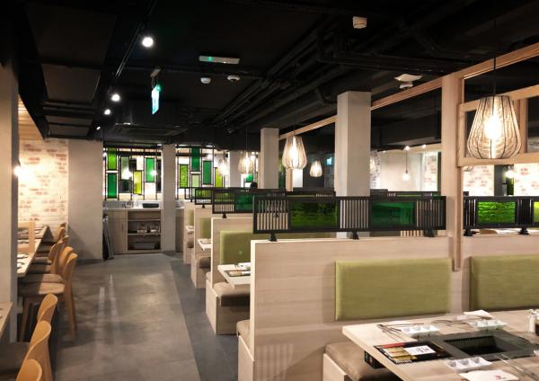 Japanese Bbq restaurant designers restaurant designers in London