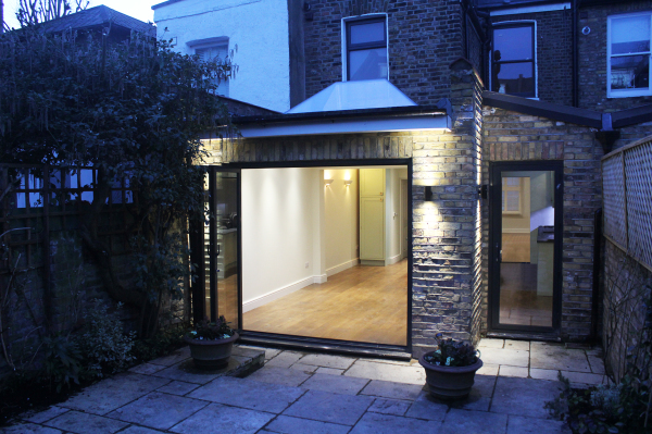 SIDE AND REAR EXTENSION IN CHISWICK