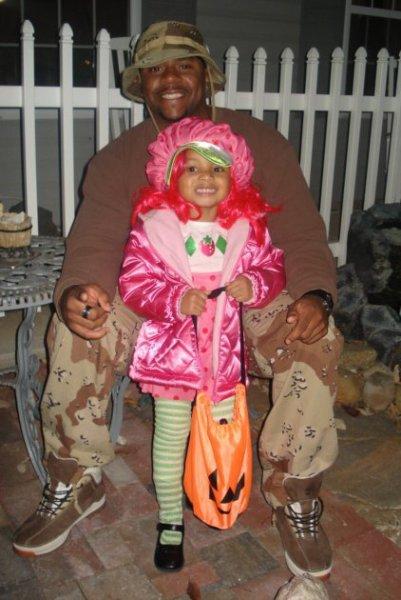 Jason Miller & his daughter celebrating Halloween