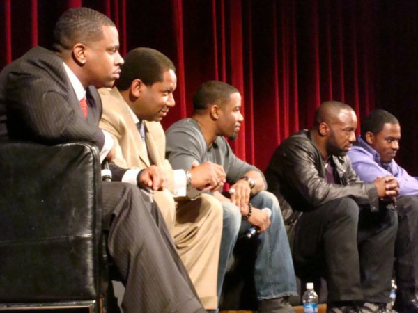 """Jason & the cast of the Tyler Perry film """"Why Did I Get Married″"""