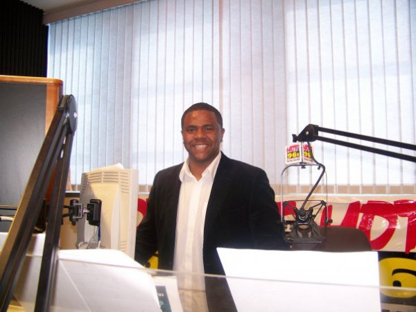 Jason Miller giving relationship & marriage advice on RADIO-ONE's HOT 96.3