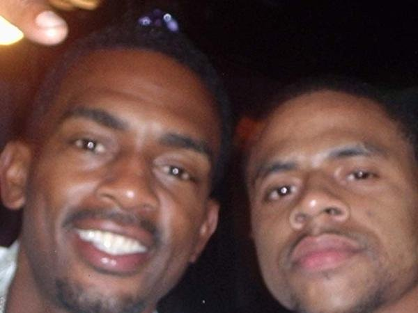 """On the set of """"How to be a Player"""" movie with Bill Bellamy."""