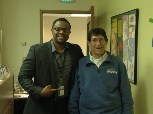 Jason's favorite professor (and mentor) at IUPUI School of Public and Environmental Affairs (SPEA). John Brandon, Executive Director of the Marian County Commission on Youth (MCCOY)