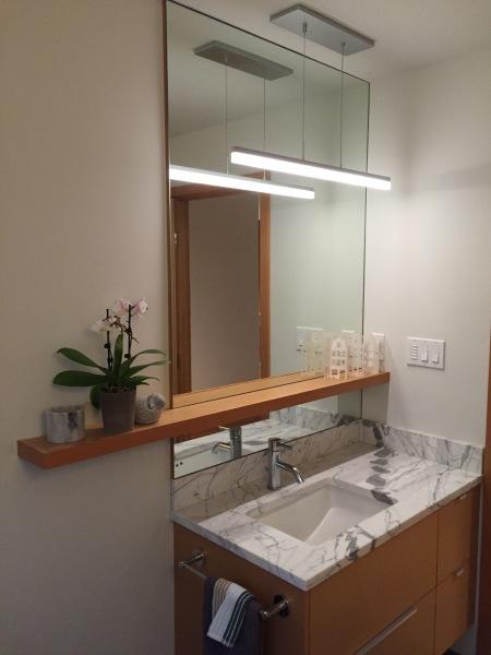 Bathroom Shelf & Mirror