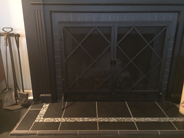 Tile Fireplace Hearth