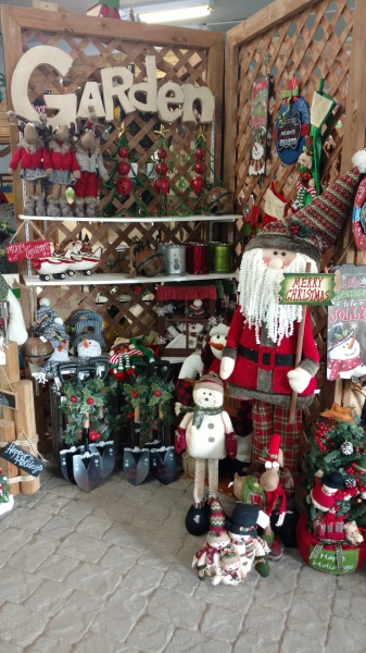 gift store showroom decor holiday items