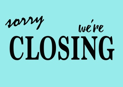 ​ We are currently closed!