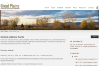 Great Plains LCC webinar page