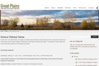 Great Plains LCC webinar page