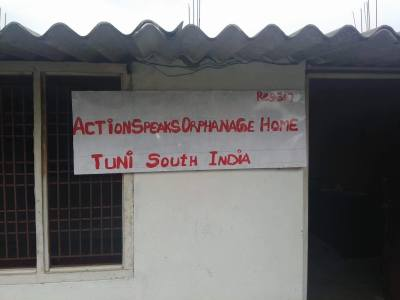 Grand Opening of the Action Speaks Orphanage Home in South India