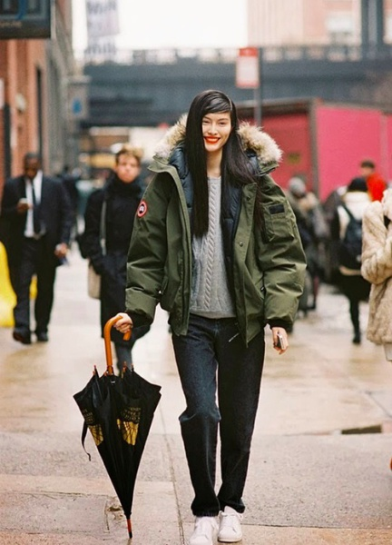 Fashion expert:-this is trendy,Canada Goose