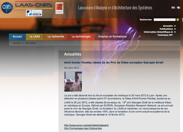 LAAS-CNRS official website