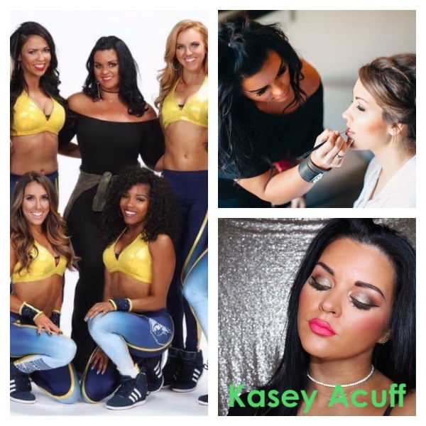 Official Grizz Girls' Makeup Artist  Contact Kasey Acuff for an Appointment