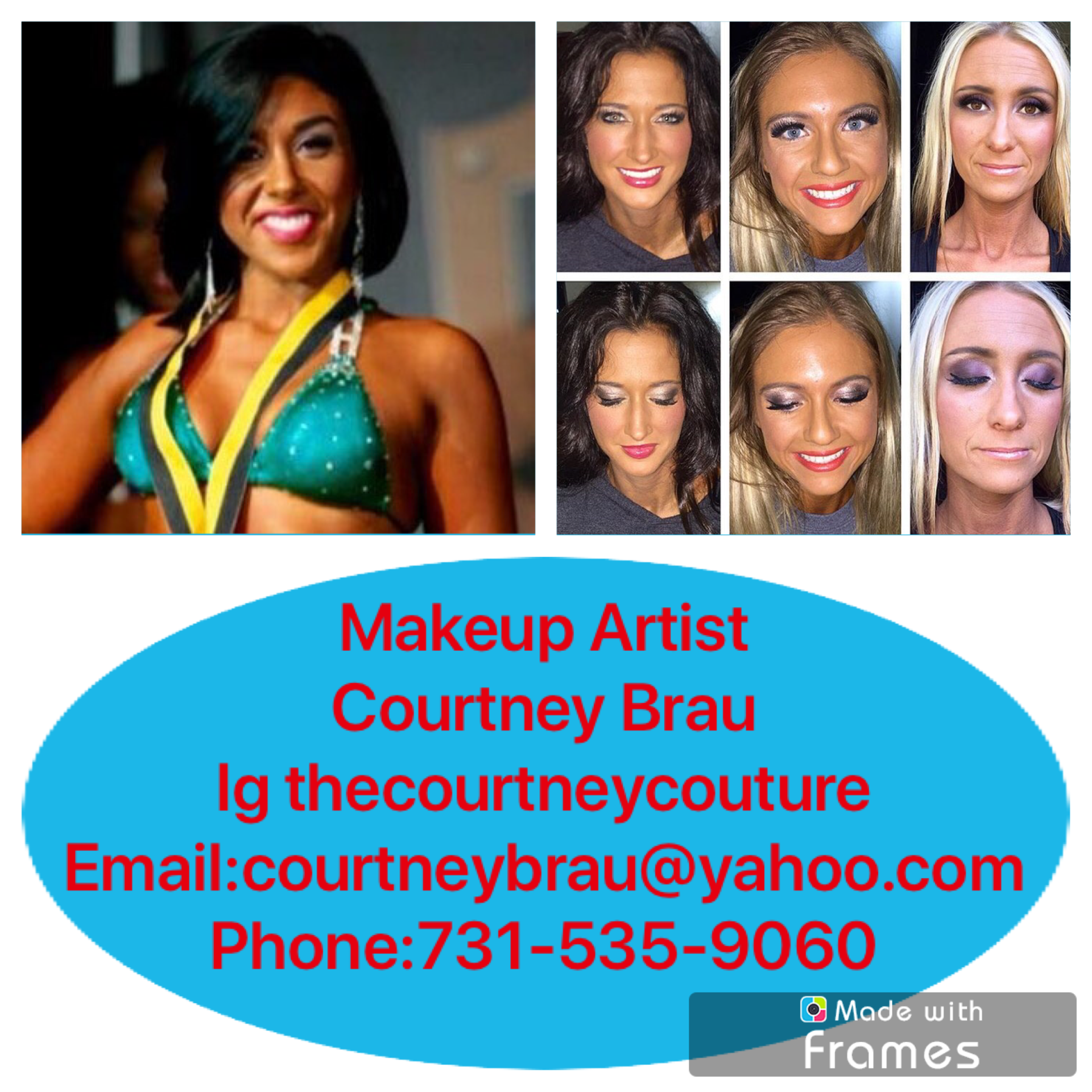 Makeup Artist  Contact Courtney Brau for an Appointment