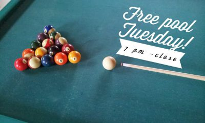 Free Pool Tuesday!
