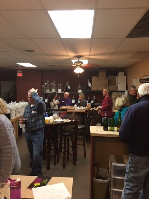 Wine tasting March 2017