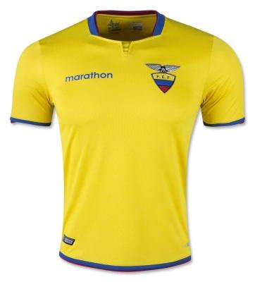 Ecuador Home Jersey
