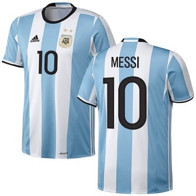 Argentina Home Jersey-Messi