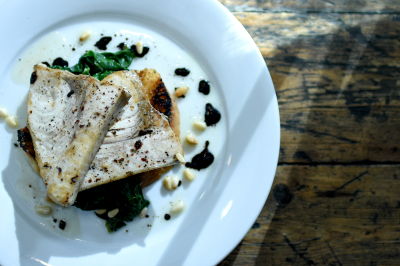 Char-grilled Swordfish