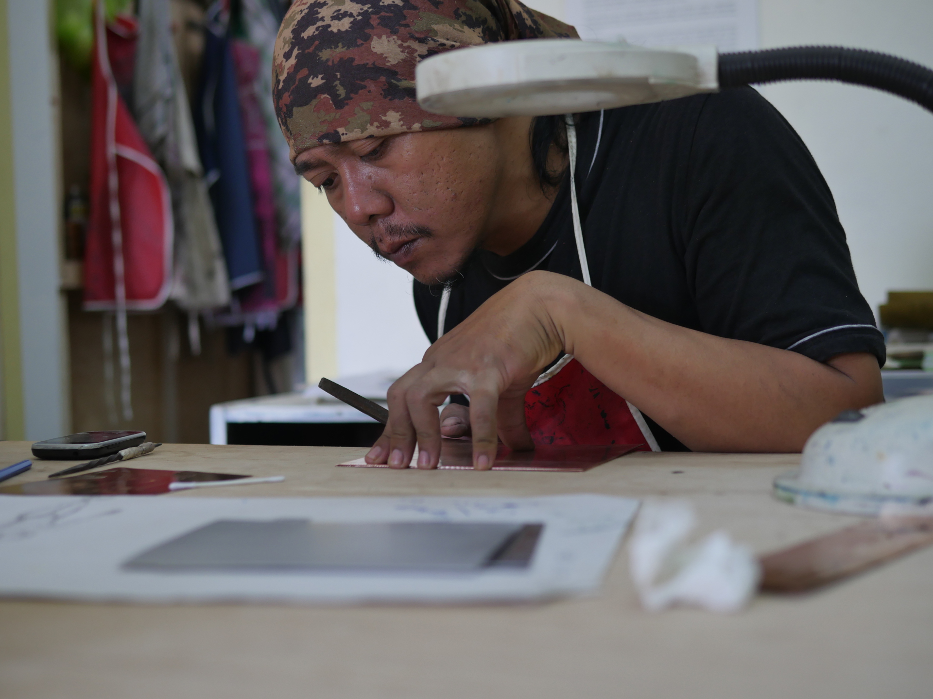 Artist Danang Hadi