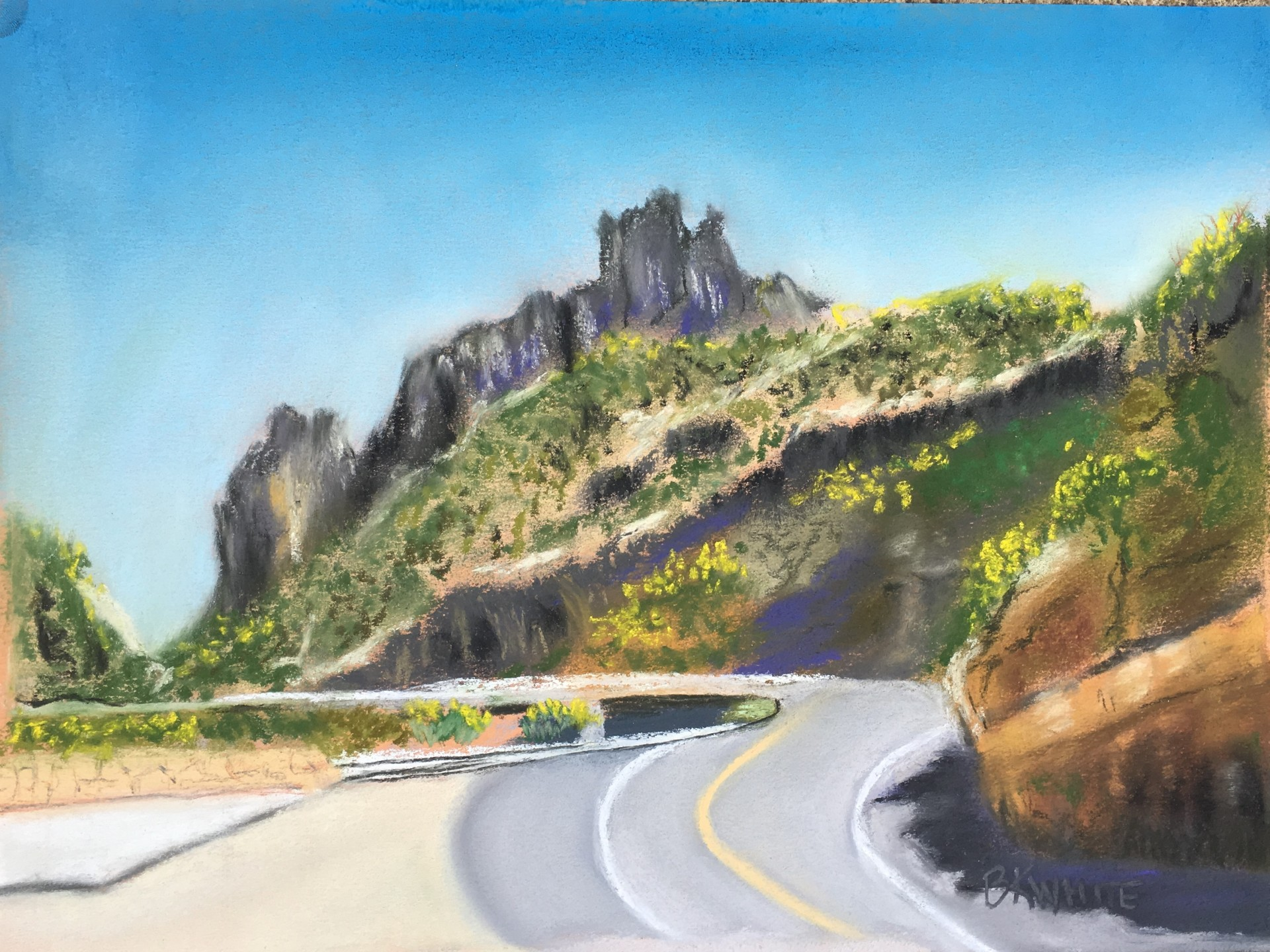 Mt_lemon, travel, gift, painting, nature, mountains, vacation, tucson, beauitful