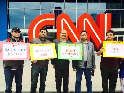 Hindus protest CNN documentary
