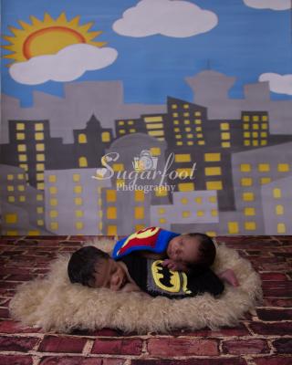 Newborn Twin Boys Charlotte Photographer Sugarfoot Photography