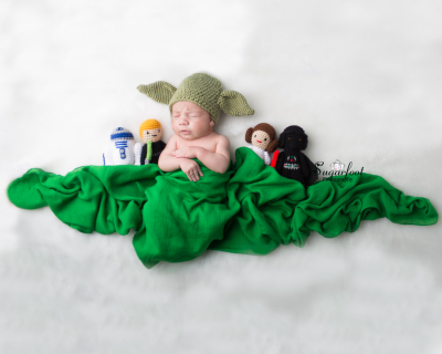 Star wars newborn session