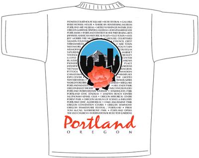 City of Portland Shirt Design