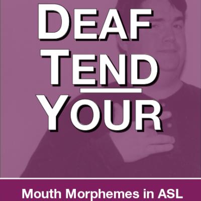 Deaf Tend Your Book Design