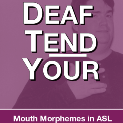 Deaf Tend Your Book Design