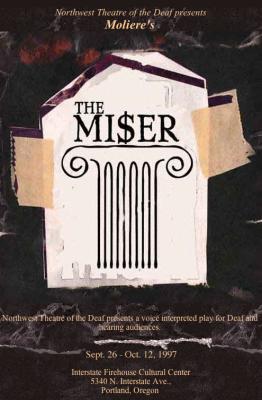The Miser Poster Design