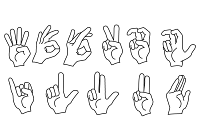 ASL Fingerspelling Handshapes