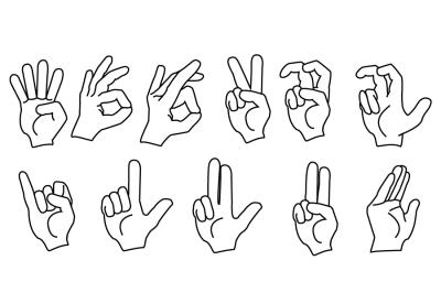 ASL Fingerspelling Handshapes
