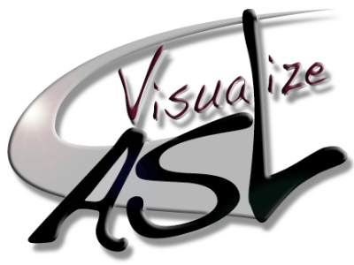 Visualize ASL Logo Design