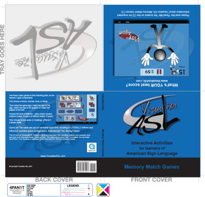 Visualize ASL DVD Design