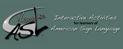 Visualize ASL Banner Design