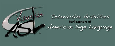 Visualize ASL Banner Design