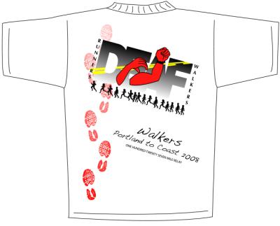 Deaf Power Organization Shirt Design