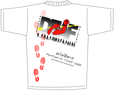 Deaf Power Organization Shirt Design