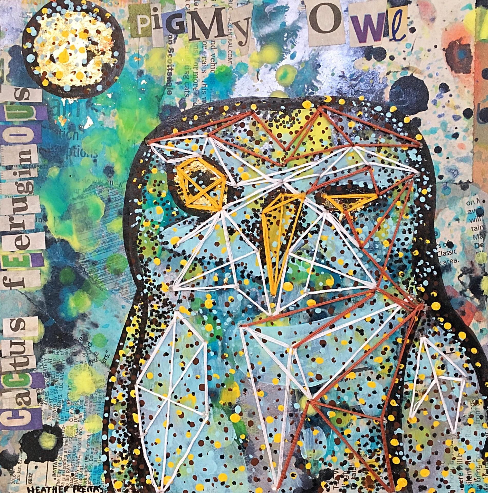 Cactus Feeruginous Pigmy Owl