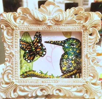 Hummingbird and Monarch 1
