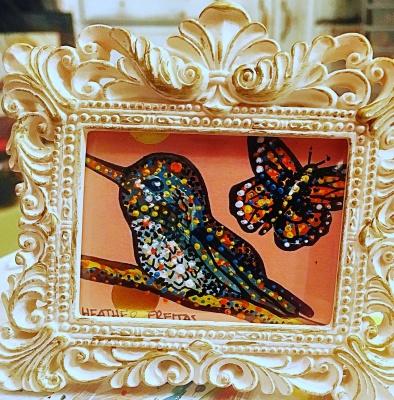 Hummingbird and Monarch 2