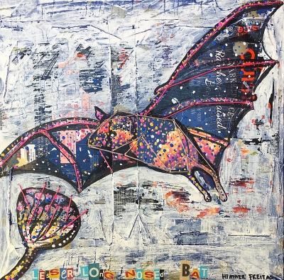 Lesser Long Nosed Bat