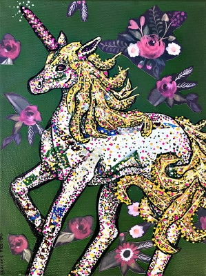 The Unicorn and its Flowers